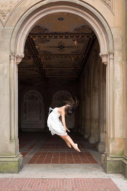 Long2 NYC dancer Ashley Avolio. Photo by Siobhan Cameron.