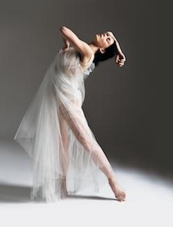Natalia Osipova as Isadora. Photo by Sergei Misenko.