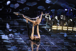 'World of Dance' Duels competitors Avery and Marcus. Photo by Justin Lubin/NBC.