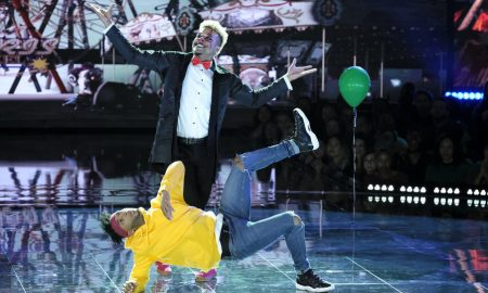 'World of Dance' Duels competitors BDash and Konkrete. Photo by Justin Lubin/NBC.