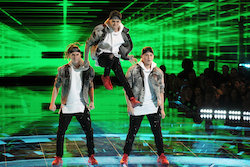 'World of Dance' Duels competitors Elektro Botz. Photo by Justin Lubin/NBC.