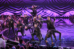 'World of Dance' Duels competitors Funkywunks. Photo by Justin Lubin/NBC.