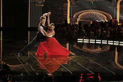 'World of Dance' Duels competitors Jonas and Ruby. Photo by Justin Lubin/NBC.