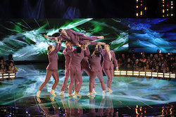 'World of Dance' Duels competitors Pursuit. Photo by Justin Lubin/NBC.