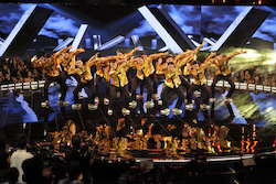 'World of Dance' Duels competitors Lock N Lol Crew. Photo by Justin Lubin/NBC.