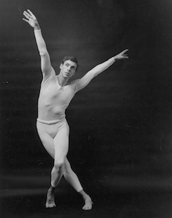 Paul Taylor. Photo courtesy of the Paul Taylor Dance Foundation Archives.