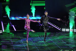 'World of Dance' The Cut competitors Jonas and Ruby. Photo by Justin Lubin/NBC.