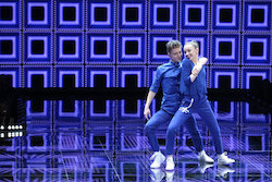 'World of Dance' The Cut competitors Josh and Taylor. Photo by Justin Lubin/NBC.