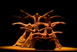 Alvin Ailey American Dance Theater in Alvin Ailey's 'Revelations'. Photo by Nan Melville.