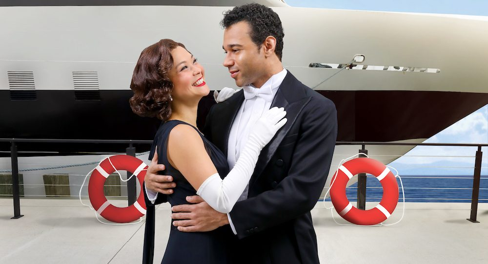 Lisa Helmi Johanson and Corbin Bleu in 'Anything Goes', running November 2-December 23, at Arena Stage. Photo by Tony Powell.