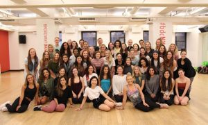 Broadway Dance Center Professional Semester Program. Photo courtesy of BDC.