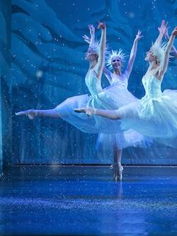Carolynn Rowland in Los Angeles Ballet' The Nutcracker'. Photo courtesy of Rowland.