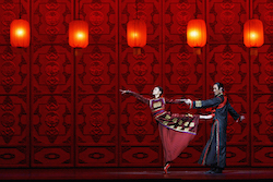 National Ballet of China in 'Raise the Red Lantern'. Photo courtesy of National Ballet of China.