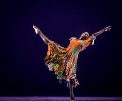 AAADT'S Hope Boykin in Matthew Rushing's 'Odetta'. Photo by Mike Strong.