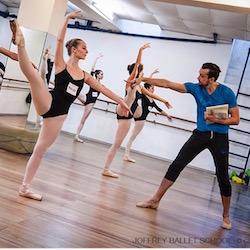 Matthew Prescott (right). Photo courtesy of Prescott:Joffrey Ballet School.