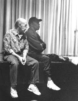Richard Ellner (left). Photo courtesy of BDC.