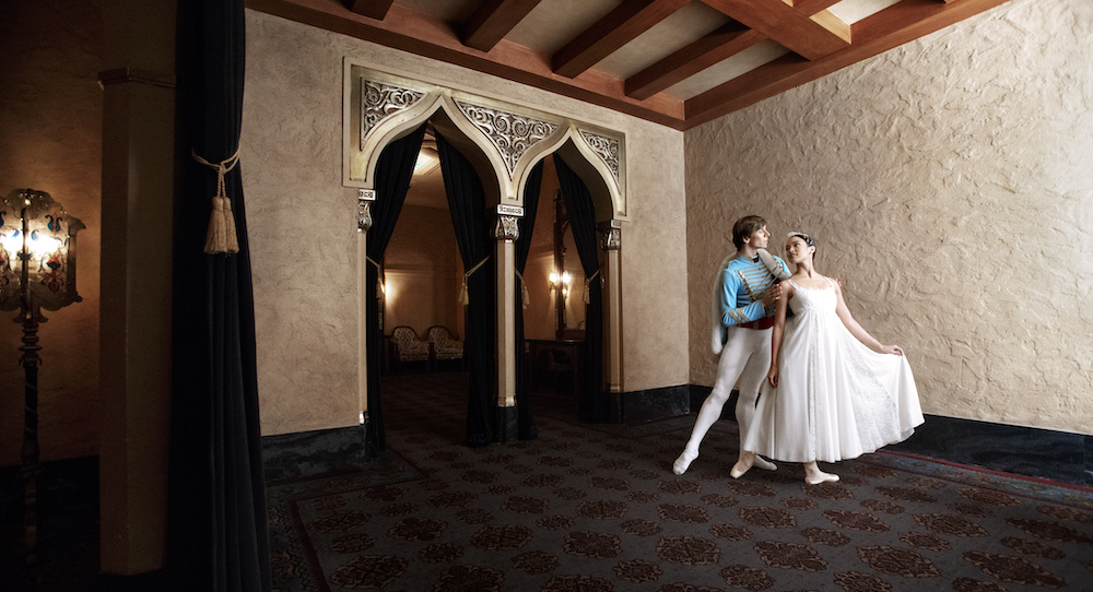Atlanta Ballet company dancers Ivan Tarakanov and Erica Alvarado as 'The Nutcracker's Marie and Prince. Photo by Charlie McCullers, courtesy of Atlanta Ballet.