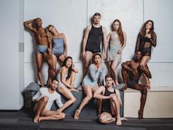 BalletX dancers Roderick Phifer, Skyler Lubin, Zachary Kapeluck, Chloe Perkes, Francesca Forcella, Richard Villaverde, Andrea Yorita, Caili Quan, Blake Krapels and Stanley Glover.