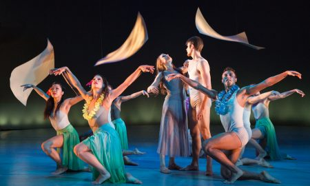 Matthew Neenan's 'Sunset, o639 Hours' performed by BalletX. Photo by Alexander Iziliaev.