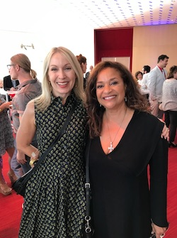 Marguerite Derricks and Debbie Allen. Photo courtesy of Derricks.