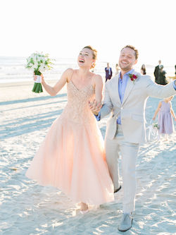 Sara Mearns and Joshua Bergasse. Photo by Perry Vaile Photography and Brides Magazine.