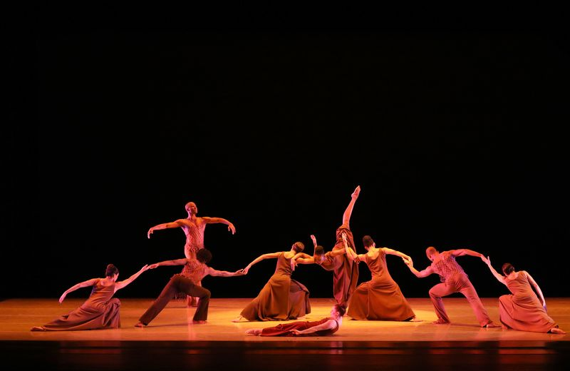 AAADT in Alvin Ailey's 'Revelations'. Photo by Donna Ward.