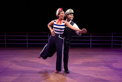 Soara-Joye Ross and Corbin Bleu in 'Anything Goes'. Photo by Maria Baranova.