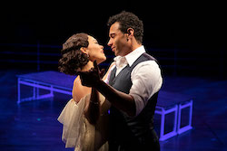 Lisa Helmi Johanson and Corbin Bleu in 'Anything Goes'. Photo by Maria Baranova.