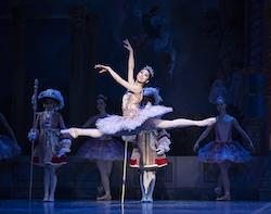 Misa Kuranaga in 'Mikko Nissinen's The Nutcracker'. Photo by Angela Sterling, courtesy of Boston Ballet.