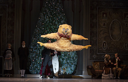 Lawrence Rines in 'Mikko Nissinen's The Nutcracker'. Photo by Angela Sterling, courtesy of Boston Ballet.
