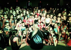 Marinda Davis teaching at Wild. Photo courtesy of Davis.