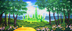 Grosh Backdrops and Drapery's 'Emerald City' backdrop.