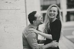 Sara Mearns and husband Josh Bergasse. Photo by Matt Simkins.