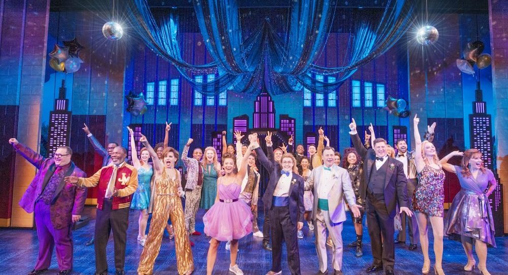 The cast of Broadway's 'The Prom'. Photo by Deen van Meer.