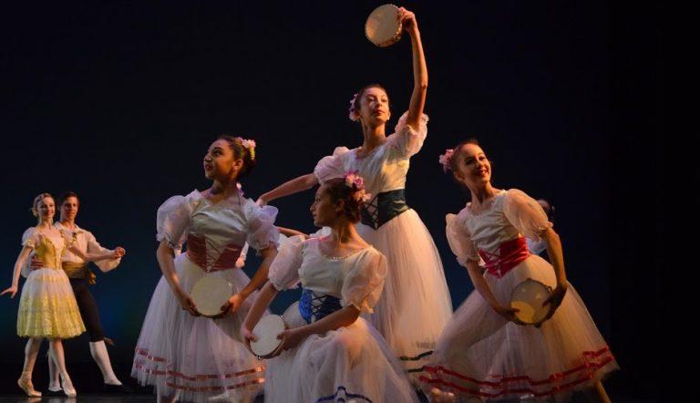 City Ballet of Cleveland in 'Flower Festival'. Photo by Lisa Gangi.