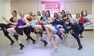 Dancers at Broadway Dance Center. Photo by Belinda Strodder.