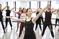 Dancers at Broadway Dance Center. Photo by Belinda Strodder.