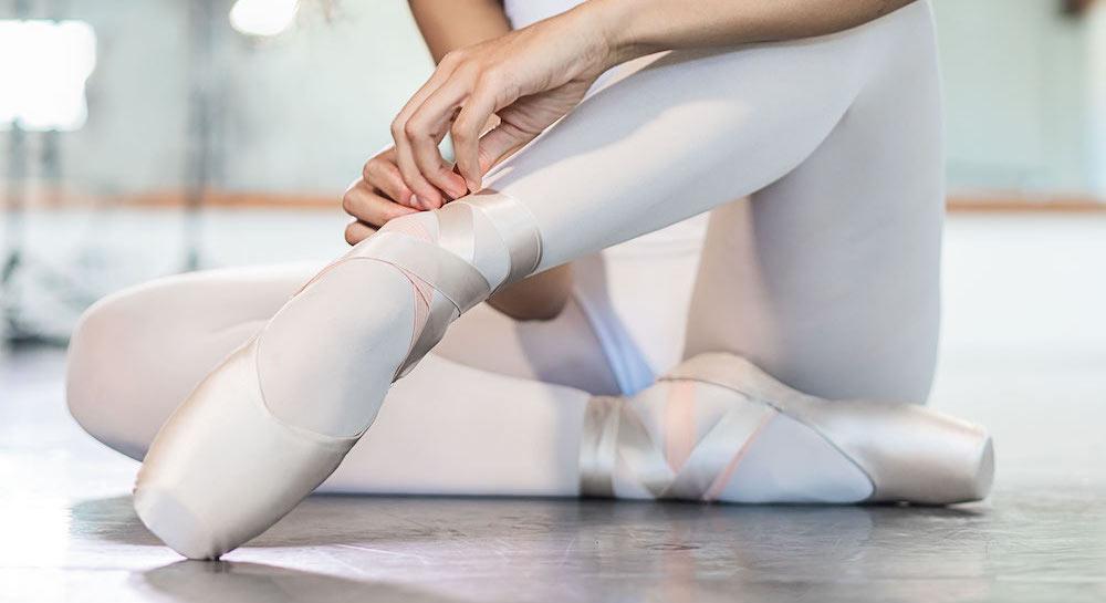 Só Dança's Elektra pointe shoe.
