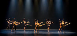 Complexions Contemporary Ballet in 'Bach 25'. Photo by Sharen Bradford.