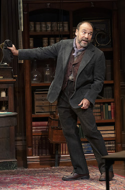 Danny Burstein as Alfred P. Doolittle. Photo by Joan Marcus.