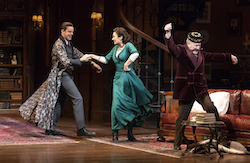 Harry Hadden-Paton, Laura Benanti and Allan Corduner. Photo by Joan Marcus.