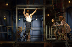 Corbin Bleu, Sarah Meahl and Erica Mansfield in 'Kiss Me, Kate'. Photo by Joan Marcus.