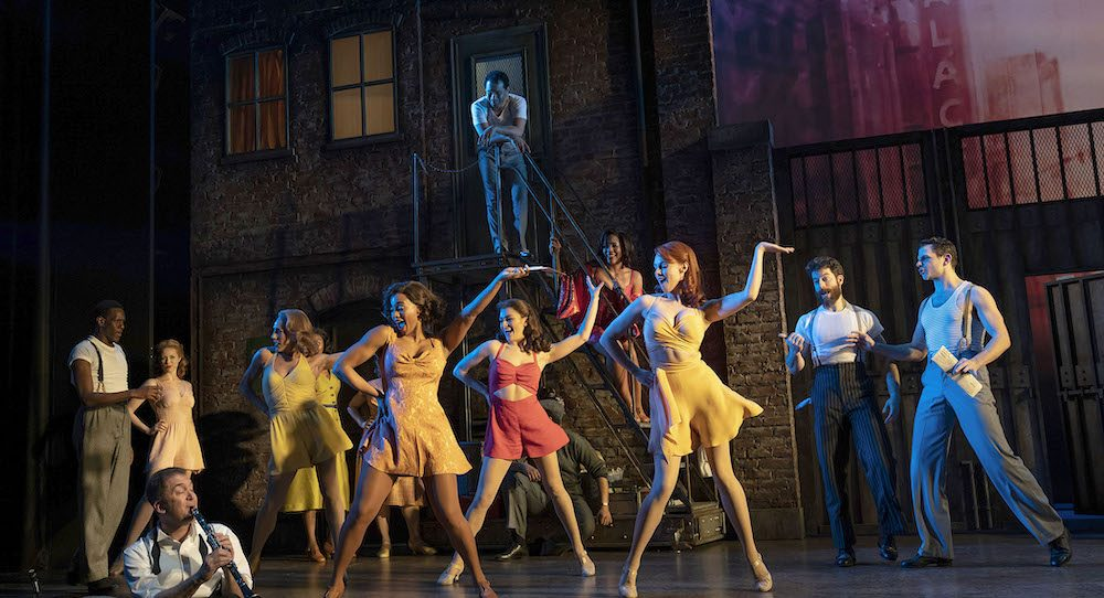 The company of 'Kiss Me, Kate'. Photo by Joan Marcus.