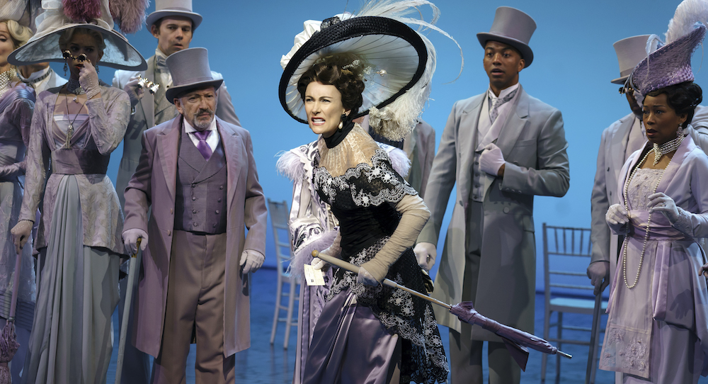 Laura Benanti as Eliza Doolittle. Photo by Joan Marcus.