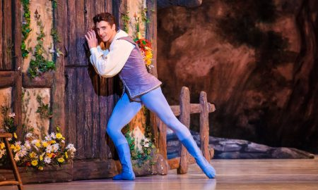 Christopher Ruud in Ballet West's 'Giselle'. Photo by Luke Isley.