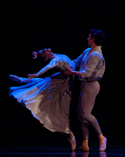 Ballet West's Arolyn Williams and Christopher Ruud. Photo by Luke Isley.