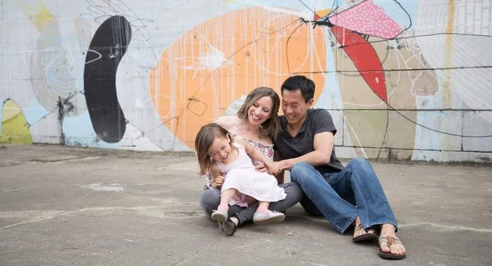 Candy Beers-Kim and family. Photo by Meghan McSweeney Photography.