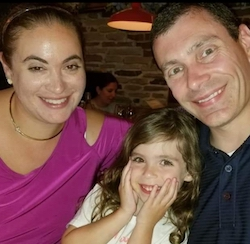Erica Hornthal (left) and family. Photo courtesy of Hornthal.