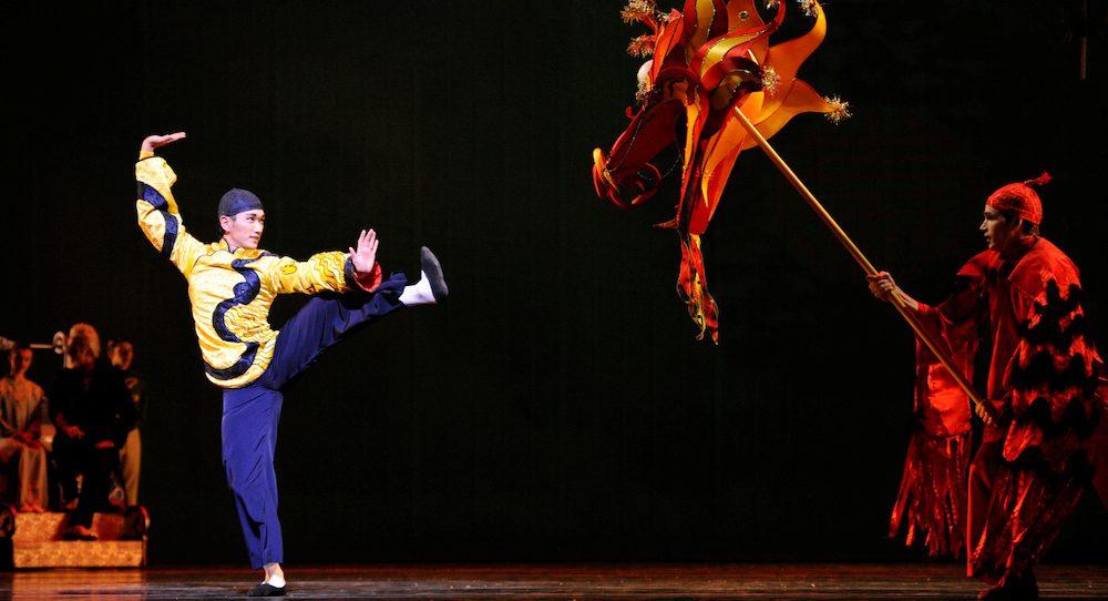 San Francisco Ballet's Hansuke Yamamoto in Helgi Tomasson's 'Nutcracker'. Photo by Erik Tomasson.