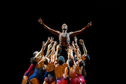 Brandon Gray and company in 'Star Dust'. Photo by Sharen Bradford.